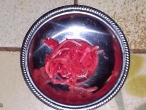 Beni Shoga (roter eingelegter Ingwer) - tataki.de