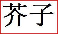 Karashi - Japanischer Senf - 芥子 - in japanische lebensmittel