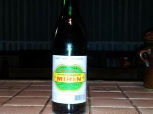 Mirin - Mirin Essig bzw. Kochwein