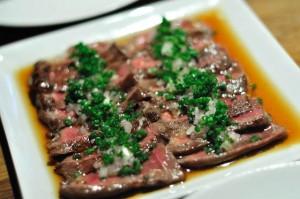 Rindfleisch Tataki